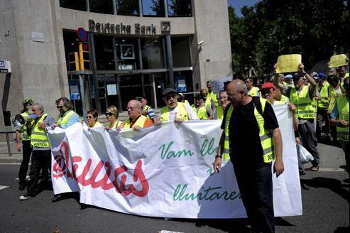 Amorcé à Barcelone, le mouvement est désormais présent dans plusieurs villes espagnoles.