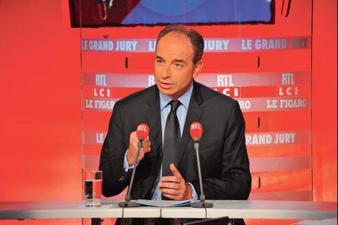 Jean-François Copé, dimanche au «Grand Jury RTL-Le Figaro-LCI». Le secrétaire général de l'UMP n'a pas l'intention de modifier son calendrier.