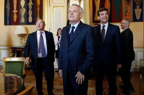 Jean-Marc Ayrault a préparé son intervention sur la base du projet de François Hollande.