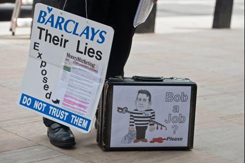 La banque britannique Barclays est la première des banques à être sanctionnées dans l'affaire de la manupilation du Libor et de l'Euribor. Son patron, Bob Diamond, a démissionné cette semaine.