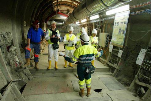 Le laboratoire souterrain de Bure, dans la Meuse, préfigure le futur centre de stockage des déchets les plus dangereux. Crédit: François Bouchon/Le Figaro