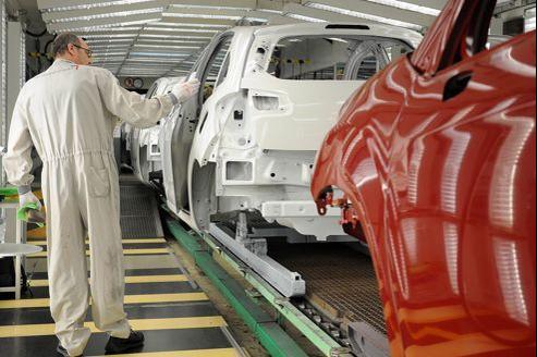 Fabrication de la Citroën C3 à l'usine d'Aulnay-sous-Bois.