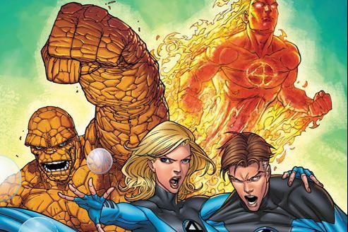 Les Quatre Fantastiques dans les comics. Crédits photo: Marvel.