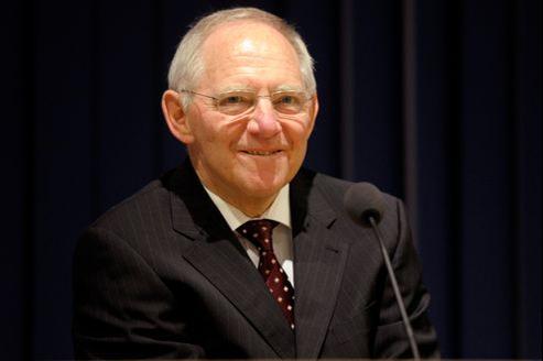 Wolfgang Schäuble, ministre allemand des Finances.
