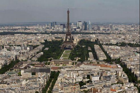 Paris, vu du dernière étage de la tour Montparnasse. François Bouchon / Le Figaro