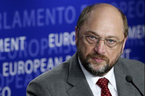 Le président du Parlement européen, Martin Schulz.