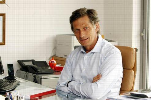 Nicolas de Tavernost, président du directoire de M6. Crédit: Richard Vialeron/Le Figaro