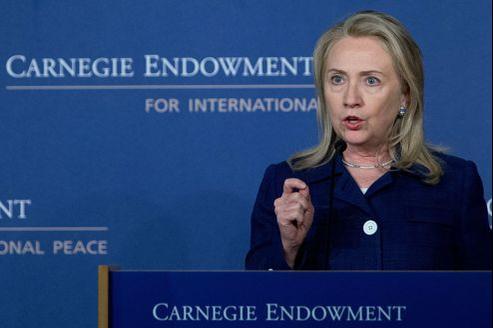 Hillary Clinton a participé, lundi, à une conférence commentant le rapport annuel du département d'État américain sur la liberté religieuse dans le monde.