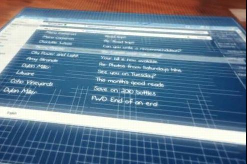Hotmail se transforme et devient Outlook.com, un système de messagerie «plus moderne», selon Microsoft. / Capture d'écran Dailymotion.