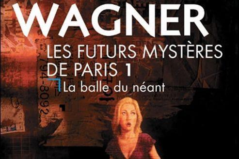 Couverture du Tome 1 des Futurs mystères de Paris (éd. J'ai Lu).