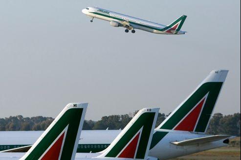 Alitalia a déjà pris en charge de nombreux passagers de Wind Jet sur ses propres appareils.