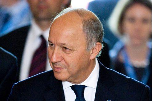 Laurent Fabius le 30 juin à Genève.