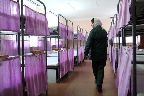 Le camp pénitentiaire pour femmes de Mozhaisk, à 100 km de Moscou.