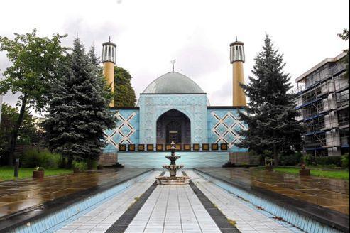 Mosquée, à Hambourg.