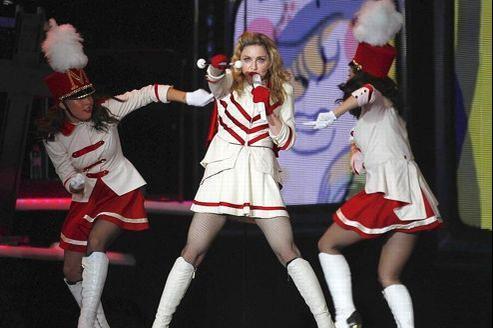 Madonna a donné à Nice, le 21 août, le dernier concert de sa tournée européenne. (Reuters)