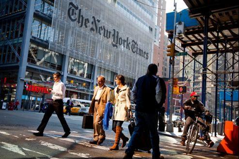 Siège du New York Times à New York.