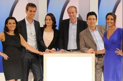 Patricia Charbonnier, Jean-Baptiste Marteau, Magali Boissin, Julien Arnaud, Dominique Blanchard, Rebecca Fitoussi.