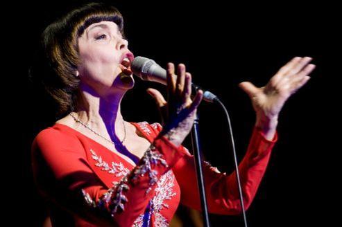Mireille Mathieu est l'invitée du Festival international de musique militaire qui se déroule à Moscou depuis le 31 août.
