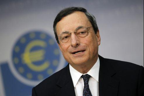Mario Draghi, président de la Banque centrale européenne.