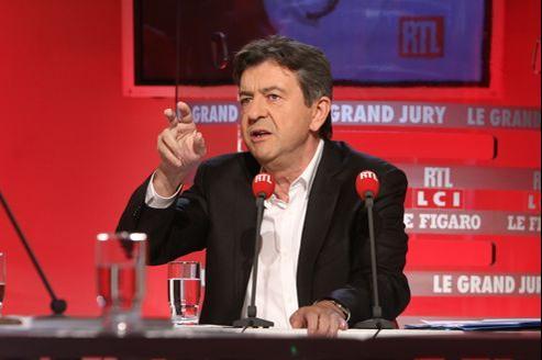 Jean-Luc Mélenchon était l'invité dimanche du «Grand Jury RTL-Le Figaro-LCI».