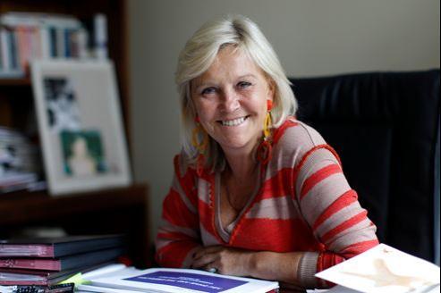 Anne Méaux, présidente d'Image 7. Crédit: Jean-Christophe Marmara/Le Figaro.