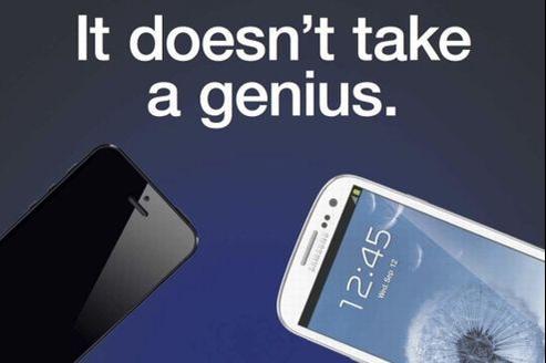 Le slogan de Samsung est aussi une référence aux «Genius», les employés des Apple Store.