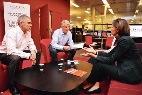 L'EMBA de l'Edhec dispense des entretiens individuels de coaching.
