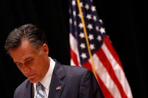 Mitt Romney, mardi à Los Angeles, a reconnu devant la presse que ses propos n'avaient pas été «formulés élégamment».