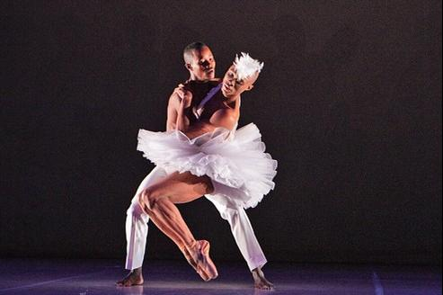 Une relecture drôle et iconoclaste du Lac des cygnes qui permet de s'interroger sur le ballet classique, enfermé dans ses conventions.
