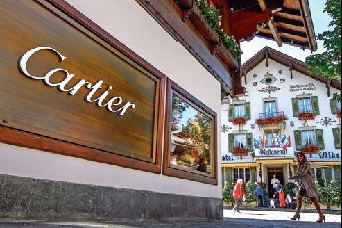Gstaad dans le canton de Berne, où résident 233 millionnaires étrangers