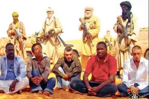 Les otages français sont retenus par Aqmi dans le nord du Mali depuis plus de deux ans.