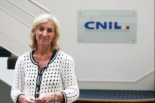 Isabelle Falque Pierrotin, présidente de la Commission nationale de l'information et des libertés (Cnil).
