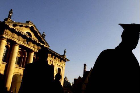 Les universités anglaises (ici Oxford) ont enregistré une chute des inscriptions de 14% à la rentrée 2012.