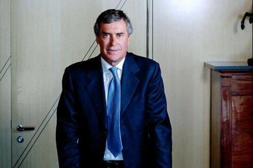 Jérôme Cahuzac, ministre du Budget, dans son bureau au ministère de l'Économie.