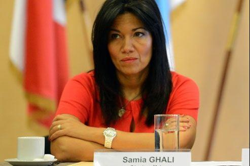 Samia Ghali, sénatrice maire PS des XVe et XVIe arrondissements de Marseille. AFP