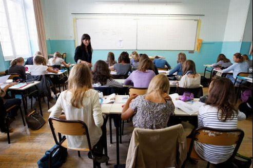 Les effectifs dans l'enseignement augmenteront en 2013 de 10.000 postes. Crédit: Jean-Christophe Marmara/Le Figaro