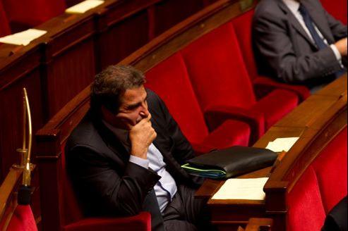 «La majorité est en train de payer les mensonges de la campagne présidentielle», accuse le patron des députés UMP, Christian Jacob (ici mardi à l'Assemblée).