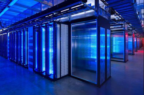 Dans le data center de Facebook, dans l'Oregon.
