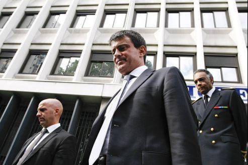 Le ministre de l'Intérieur, Manuel Valls.