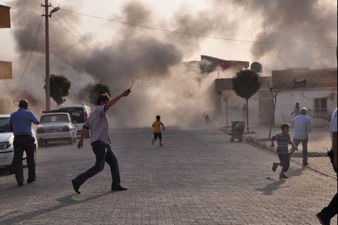 Il s'agit d'un «incident très grave qui dépasse les bornes», a réagi le vice-premier ministre turc Besir Atalay