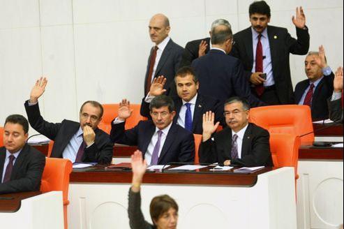 La Turquie a obtenu le feu vert de son Parlement pour poursuivre les bombardements contre la Syrie.