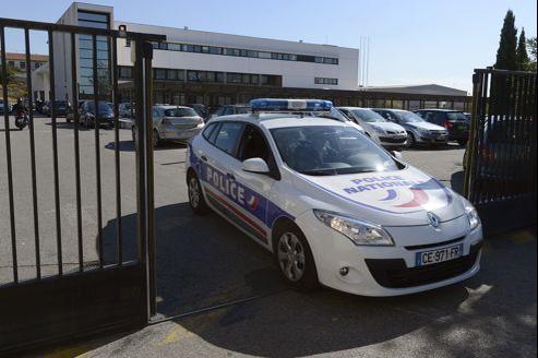 Les locaux de la BAC, à Marseille. C'est ici qu'une partie des policiers des équipes de jour se livraient à leur trafic.