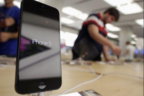 L'iPhone 5 est livré sans dock.