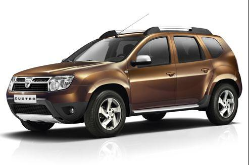 Le Dacia Duster 1.6 16 v, à 13.900€, est malusé à 2600€.