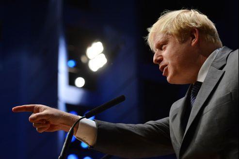 Boris Johnson, le maire de Londres, lors du congrès du parti conservateur à Birmingham, le 8 octobre 2012.