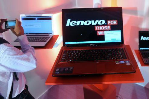Le chinois Lenovo, premier fabricant mondial de PC
