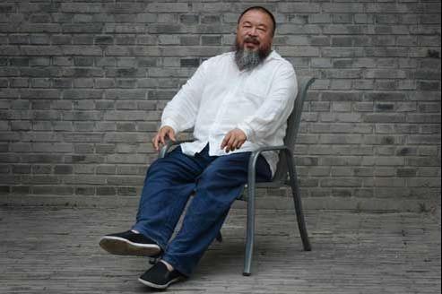 Ai Weiwei est un artiste conceptuel, provocateur, parfois à la limite du punk. (Mark Ralston/AFP)
