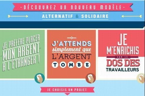 Avec des phrases piquantes, Babyloan espère attirer la curiosité des Français et relever le défi solidaire de financer 500 projets de micro-entrepreneurs.