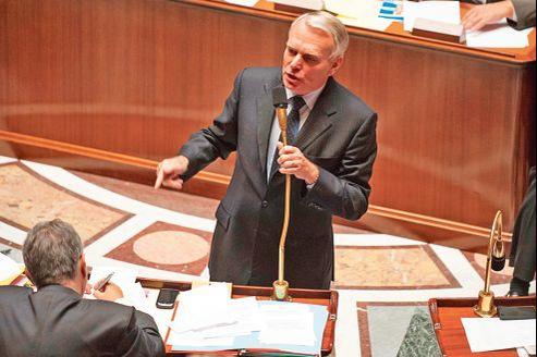 Le premier ministre Jean-Marc Ayrault, mardi, à l'Assemblée nationale.