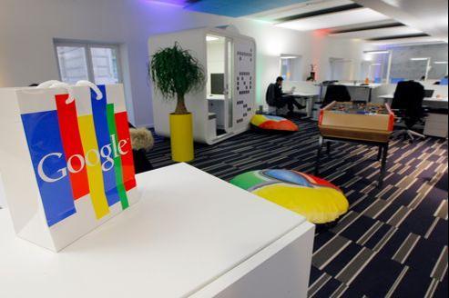 Dans les nouveaux locaux de Google, à Paris.